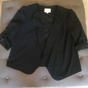Cute drape front Loft blazer